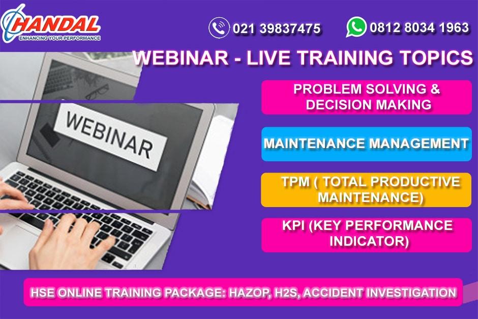 Webinar Training by Handaltraining