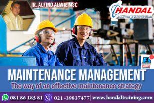 MaintenanceManagement Training